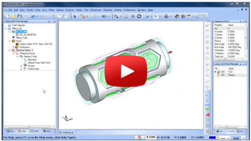 4 axis wrapping in cam software