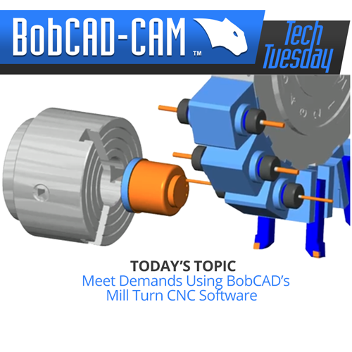 mill turn tech tuesday for cad-cam