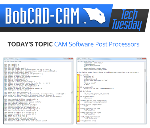 cam software post processor