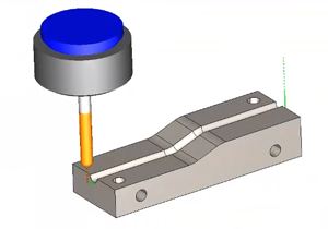 lead in in cad-cam software