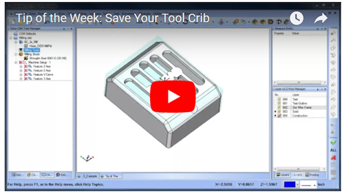 cam software tool crib