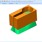 Solid Simulation in Wire EDM CAM Software