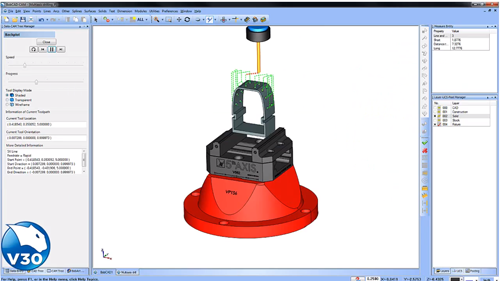 2-5 Axis Drilling in CNC software