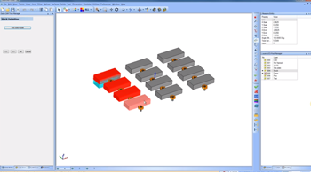 multiple solids selected in CAD-CAM