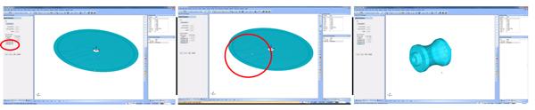 Revolved stock in CAD-CAM
