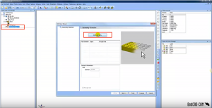 select geometry in CAD-CAM software