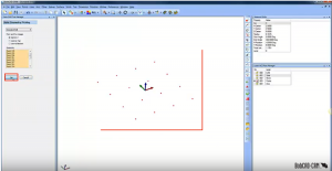 select points in CNC software