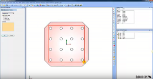 selecting poins in solid model with CAD-CAM