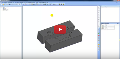 Solid Imprint feature in CAD-CAM