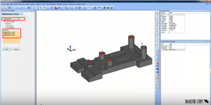 standard drill hole selection in CAD-CAM