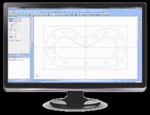 2d Wireframe CAD-CAM