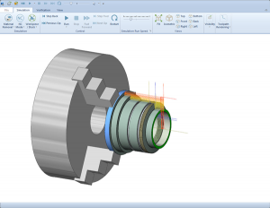 Lathe CNC software simulation