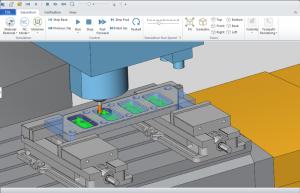 BobCAD's full CNC software Machine simulation