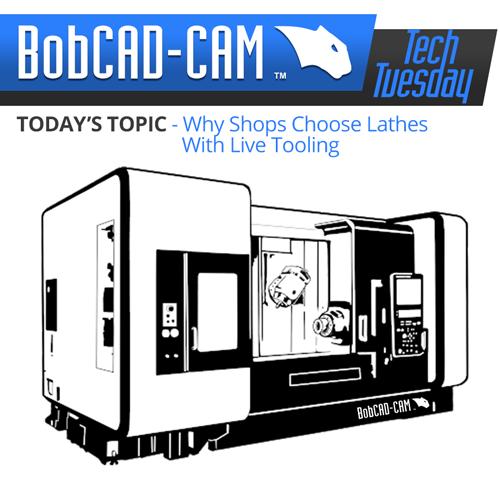 CAD-CAM Live tooling