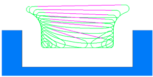 CAM software Micro Lift move