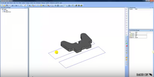 wireframe and solid model in CAD-CAM software