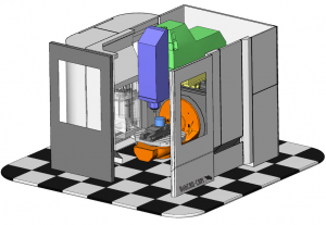 full machine simulation in BobCAD CAM software