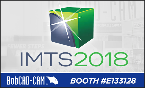 IMTS 2018 & BobCAD CNC software