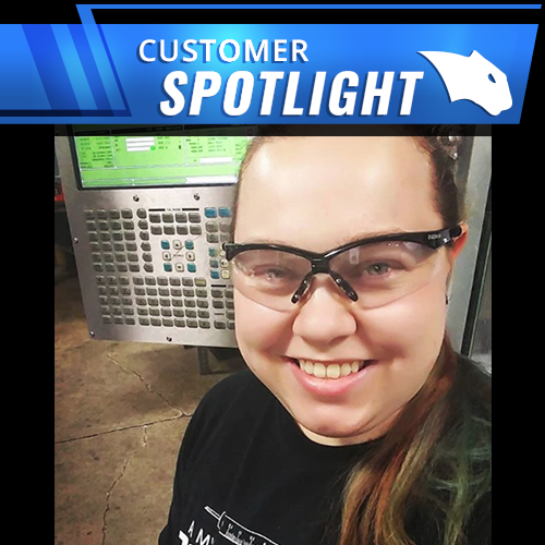 how jessica gibson uses bobcad cnc software