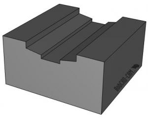 CNC software part model