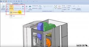 3 main CAD-CAM simulation modes