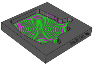 advanced adaptive toolpath in V31 CAD-CAM