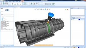 CAD-CAM toolpath on supercharger