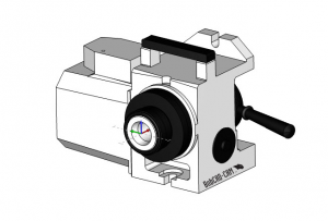 HA5C part in CAD-CAM