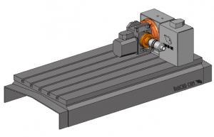 CAD-CAM rotary tilt machine 5x