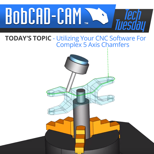 CAD-CAM chamfering