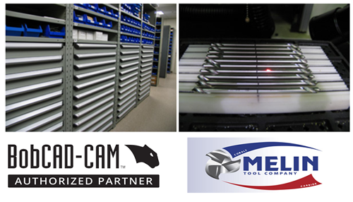 melin tool and bobcad cnc software partnership