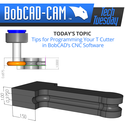 TT t cutter in cam software