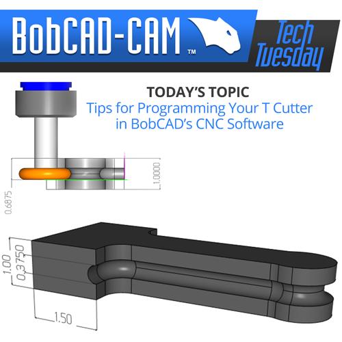 TT t cutter in cam software