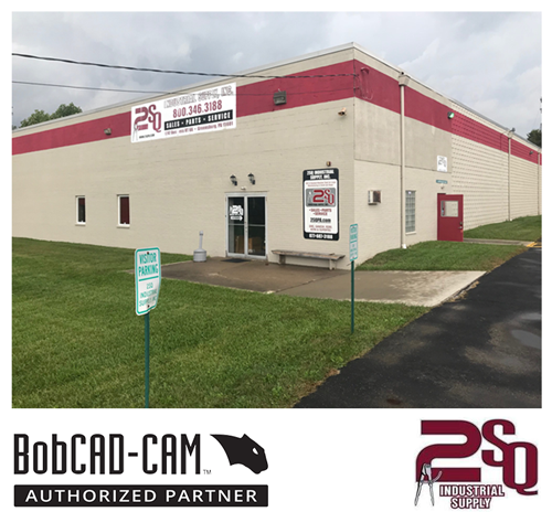 bobcad cnc software and 2SQ industrial supply partnering together
