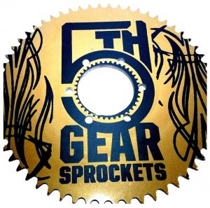 5th gear sprockets uses bobcad cam software