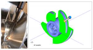 cnc software made propeller