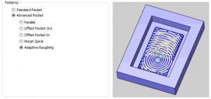 cam software pocket patterns