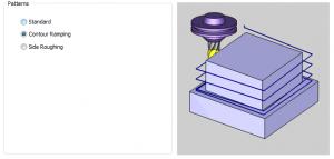 cnc software profile patterns