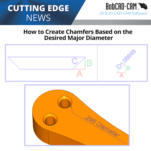 chamfering with bobcad's cnc software