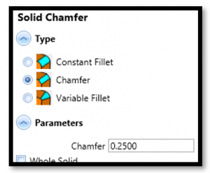 bobcad cam software chamfer type