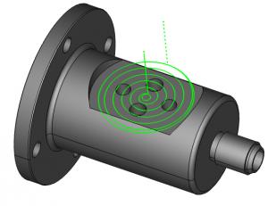 index spiral pocket in cadcam