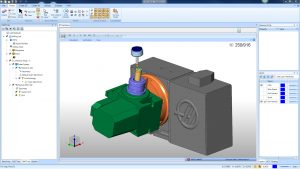 multiaxis posting in cam software