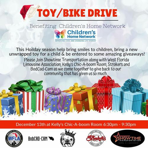 bobcad holiday toy drive