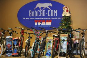 christmas bikes from bobcadcam