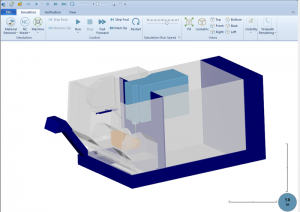 simulation in v31 bobcad cam software