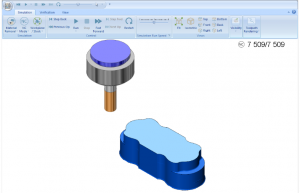 tool roughing in bobcad cnc software