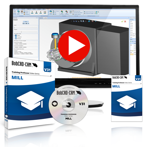 v31 mill training professor for cam software