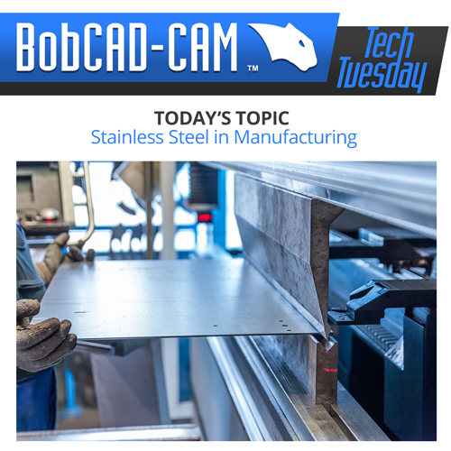 bobcad cadcam software stainless article