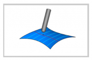 cuts along curve in bobcad cam software