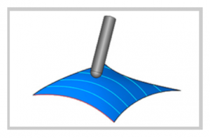 parallel to multiple curves in bobcad cam software